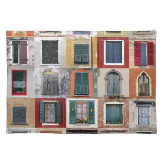 Twenty Five Windows Placemat