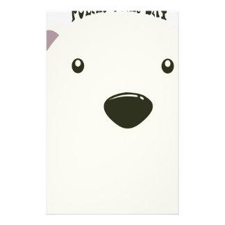 Twenty-seventh February - Polar Bear Day Customised Stationery