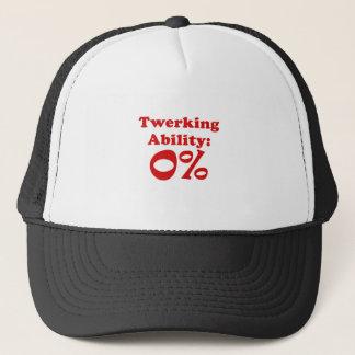 Twerking Ability Zero Percent Trucker Hat