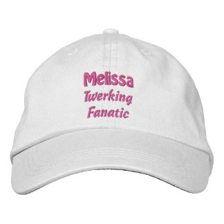 Twerking Fanatic Custom Name V08D Embroidered Hat