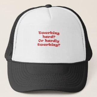 Twerking Hard or Hardly Twerking products. Trucker Hat