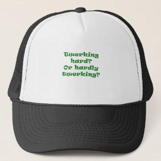 Twerking Hard or Hardly Twerking Trucker Hat
