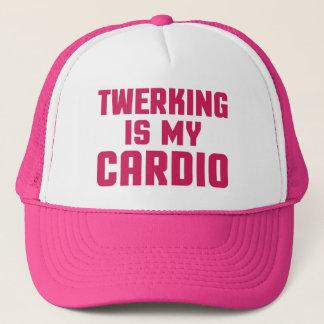 Twerking Is My Cardio Funny Gym Quote Trucker Hat