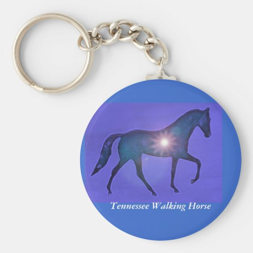 TWH Tennessee Walking Horse Key Chain