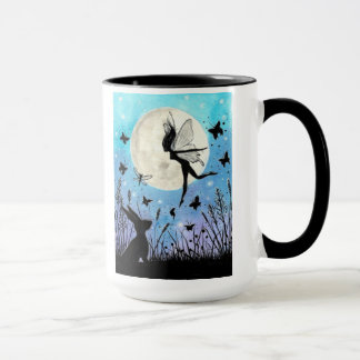 Twilight Faeries and hare mug