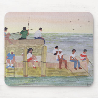 Twilight Fishing 1988 Mouse Pad