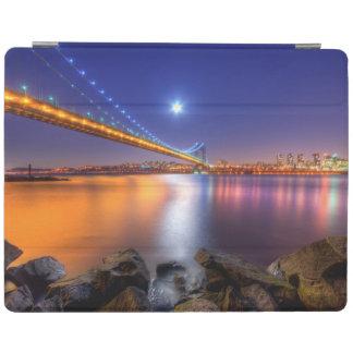 Twilight, George Washington BridgePalisades, NJ. iPad Cover