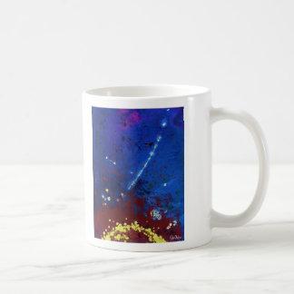 TWILIGHT (outer space art) ~ Basic White Mug