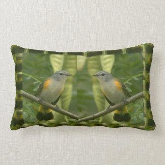 Twin American Wild Birds - Kids Fancy Fantasy Gift Lumbar Cushion