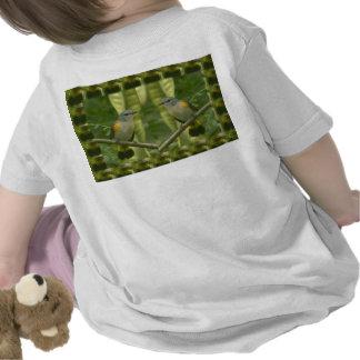 Twin American Wild Birds - Kids Fancy Fantasy Gift Tee Shirt