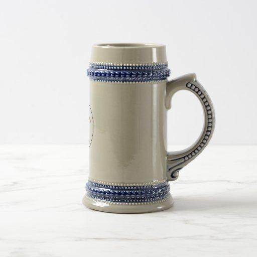 Twin Derricks Stein Coffee Mugs