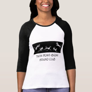 TWIN PEAKS IBIZAN HOUND CLUB LONG ... - Customized T-Shirt