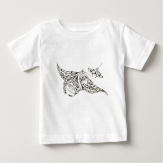 twin rays manta-rays baby T-Shirt