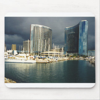 Twin Towers Marriott Mouse Pad