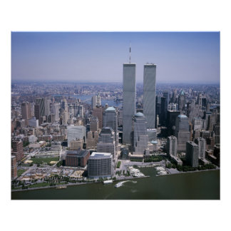 Twin Towers ,New York City Poster