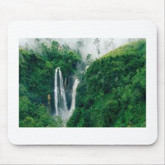 TWIN Waterfalls Mouse Pad