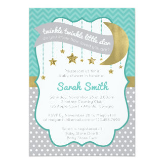 twinkle twinkle little star invitations announcements