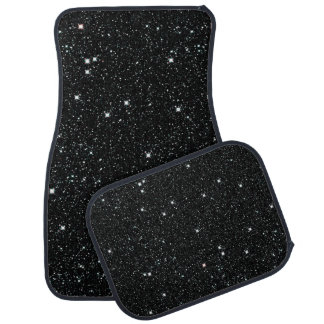 TWINKLE, TWINKLE, LITTLE STARS (outer space) ~ Car Mat