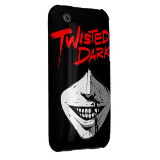 Twisted Dark iPhone 3 Case