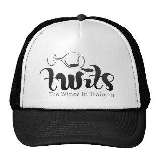 TWITs Wine Club Light Apparel Mesh Hats