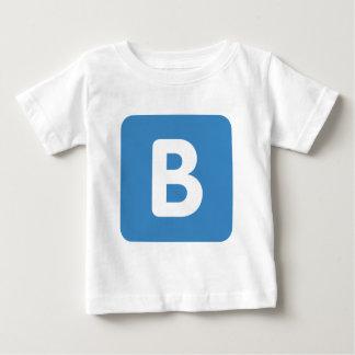 Twitter emoji - Letter B Baby T-Shirt