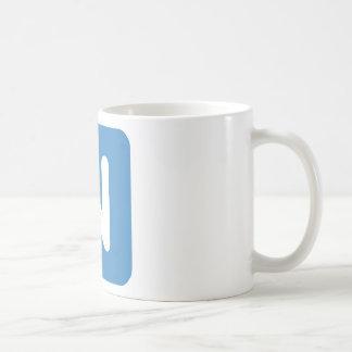 Twitter Emoji - Letter NR Coffee Mug