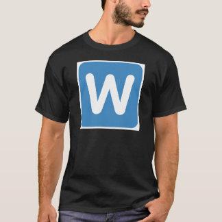 Twitter Emoji - Letter W T-Shirt