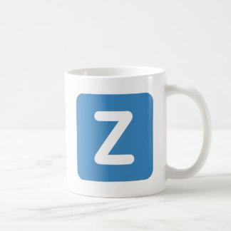 Twitter Emoji - Letter Z Coffee Mug