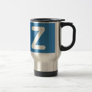 Twitter Emoji - Letter Z Travel Mug