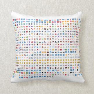 Twitter emojis pillow