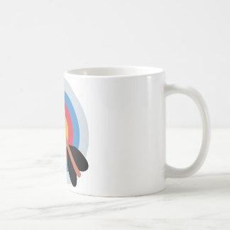 Twitter Emoticon - target archery Coffee Mug
