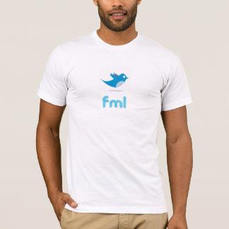 """Twitter """"fml"""" t-shirt"""