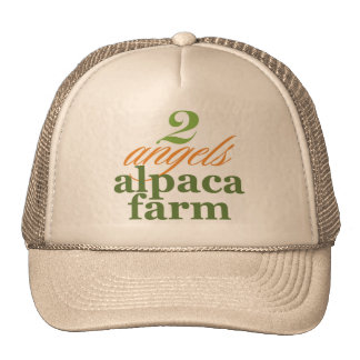 Two Angels Alpaca Farm Cap