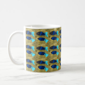 two beautiful fishes coffee mug