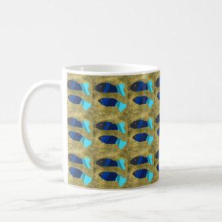 two beautiful fishes mugs