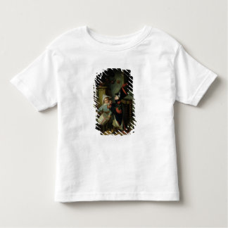 Two Boys Dressing Up as Soldiers T Shirt