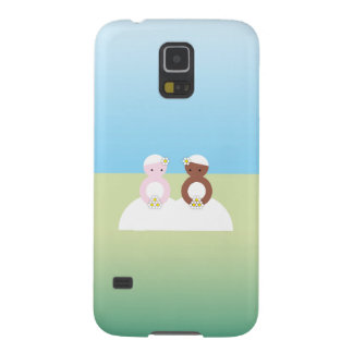 Two brides one caucasian one colored galaxy s5 case