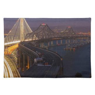 Two Bridges San Francisco–Oakland Bay Bridge Placemat