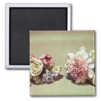 Two bunches of Vincennes flowers Square Magnet