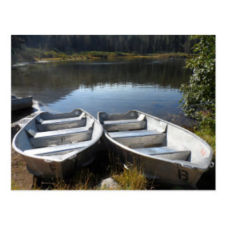 Two Canoes- Mammoth Lakes Postcard