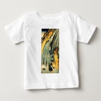 Two carp in a cascade by Katsushika Hokusai Baby T-Shirt