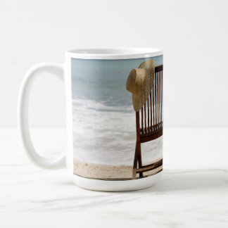 Two Chairs On Beach | Barbados Coffee Mug