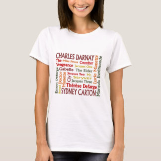 Two Cities Characters T-Shirt