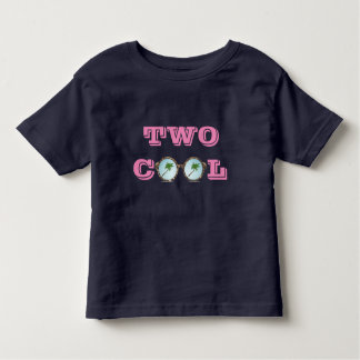 TWO COOL - COCONUT TREES SUNGLASSES   TODDLER T-Shirt