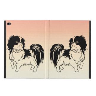 Two Cute Dogs on Orange iPad Air 2 Case