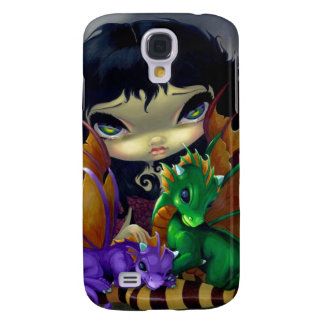 """""""Two Cute Dragonlings"""" iPhone 3 Case"""
