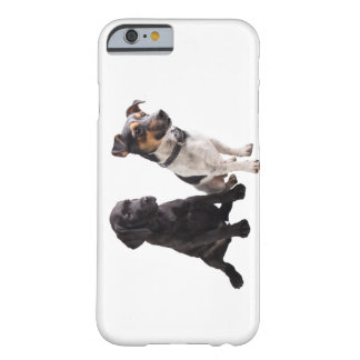two cute little dogs barely there iPhone 6 case