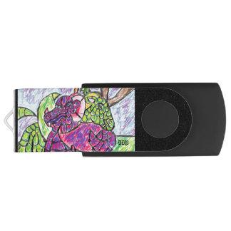 two dragons lover swivel USB 3.0 flash drive