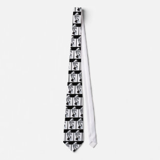 Two Faces of Grief Tie