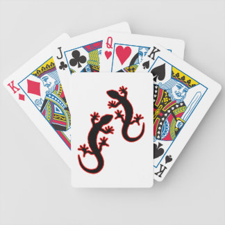 Two Geckos Bicycle Playing Cards